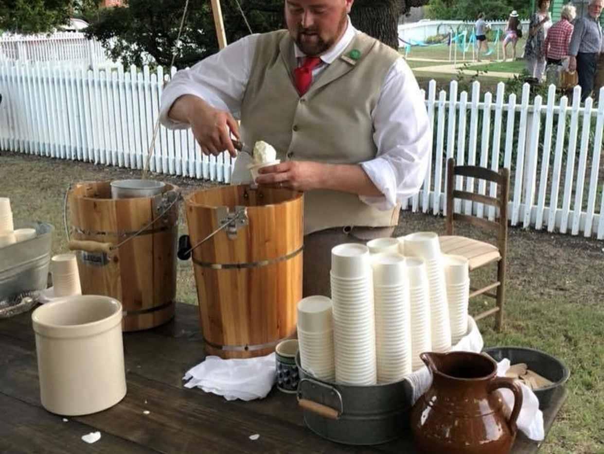 Nash Farm in Grapevine has hosted 1920s-style ice cream socials.