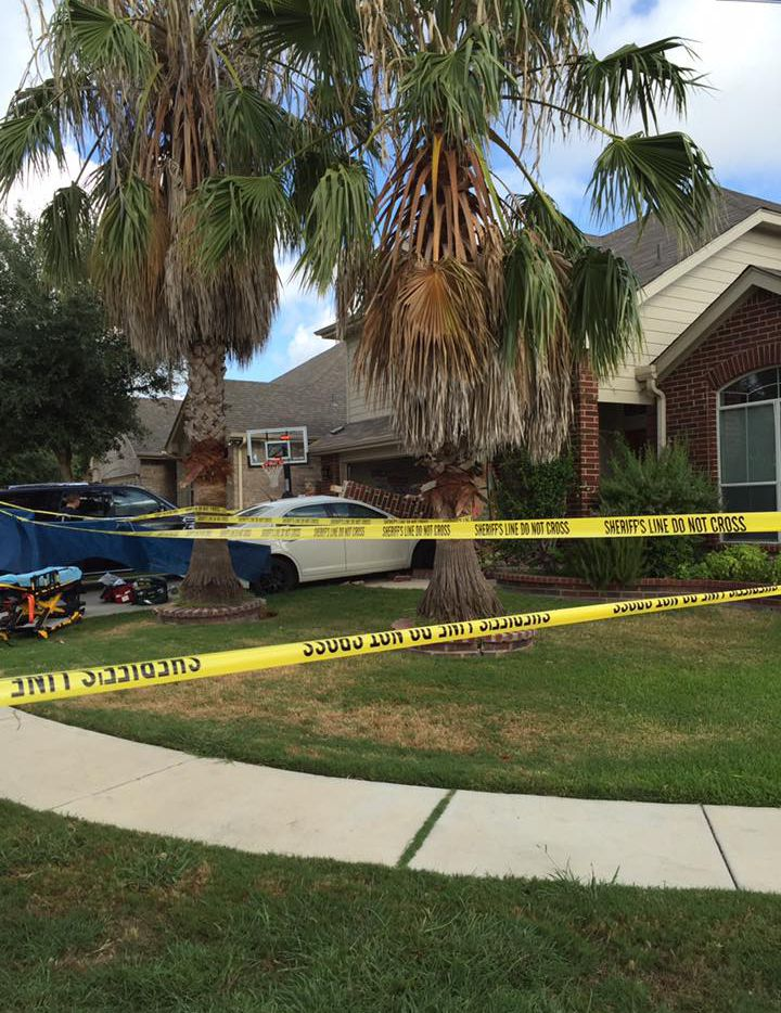 Mohammed Abdelaziz crashed into the home as he tried to drive away.