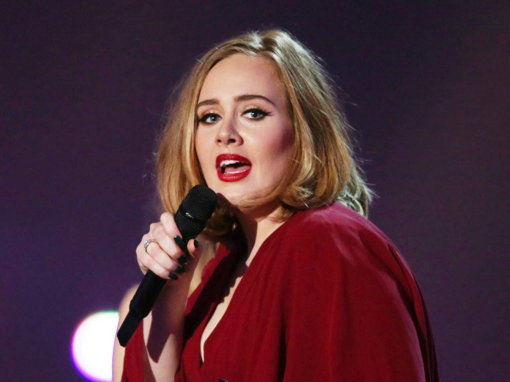 Foto de archivo de Adele de 2016.