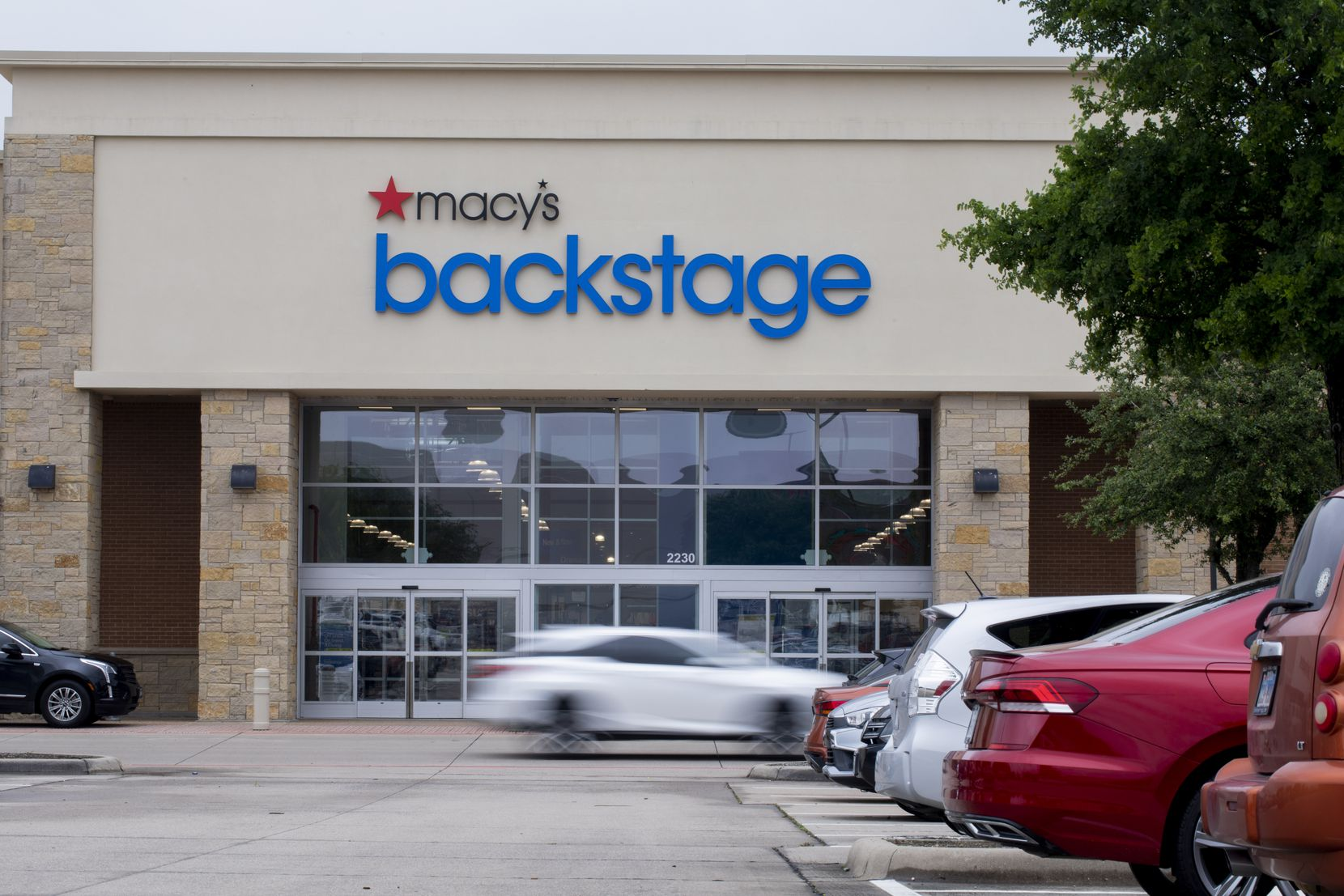 Macy's Backstage store in The Village at Allen opened in May 2021 in a space that used to house Babies R Us.