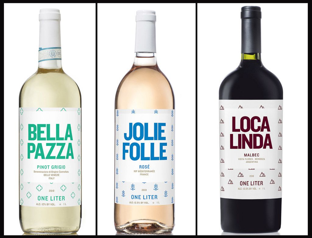 Loca Linda from Argentina, Jolle Folle from France and Bella Pazza from Italy, from Crazy Beautiful Wines