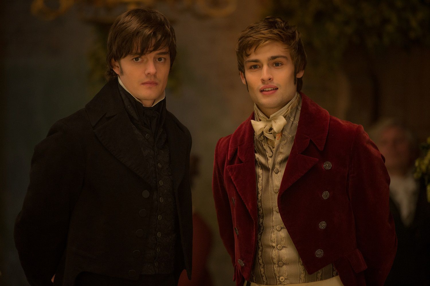 Sam Riley and Douglas Booth in Screen Gems' PRIDE AND PREJUDICE AND ZOMBIES.