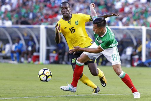 Angel Sepúlveda y el Tri perdieron por la mínima diferencia ante Jamaica en semifinales de Copa Oro. Foto AP