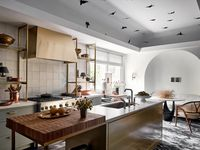The prep-kitchen at the Kips Bay Decorator Show House Dallas. This room was designed by Chad Dorsey Design.