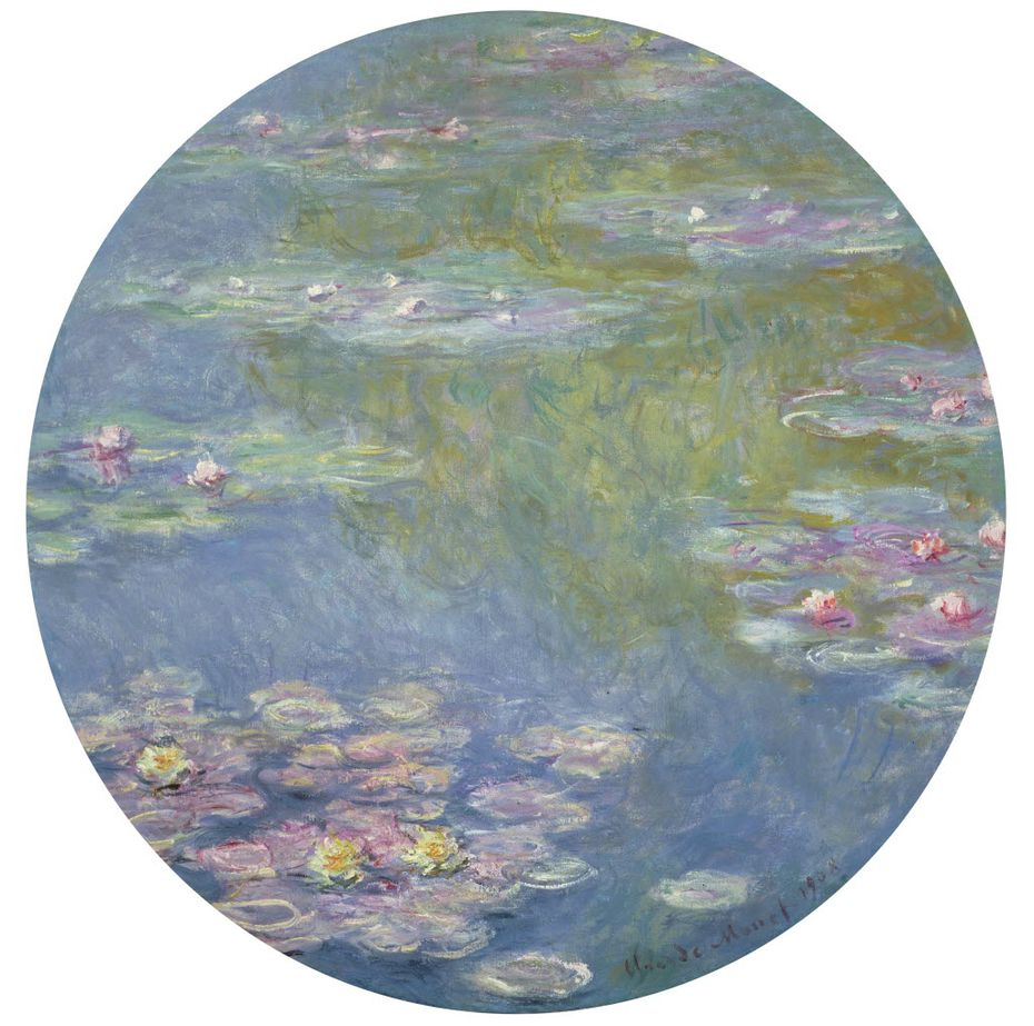 Claude Monet, Water Lilies, 1908, oil on canvas, Dallas Museum of Art, gift of the Meadows Foundation, Incorporated 1981.128
