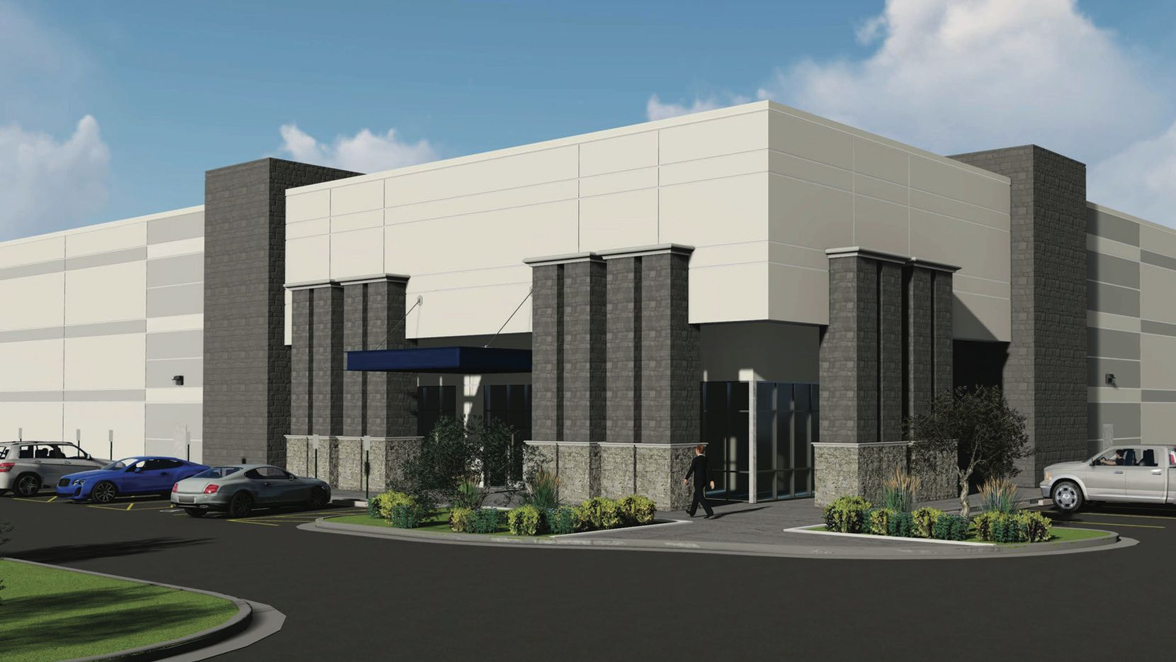 Steelcase has leased two buildings in the Valwood Crossroads business park in Carrollton.