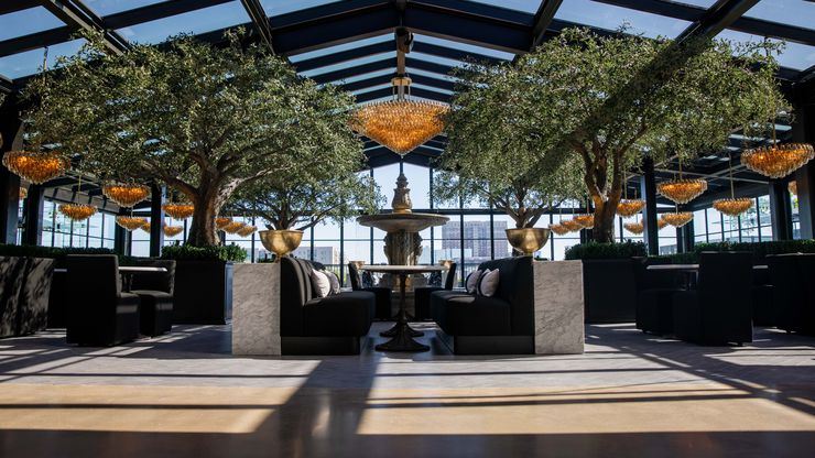 We're calling it: RH Rooftop Restaurant is the new hot spot for lunch or brunch in Dallas.