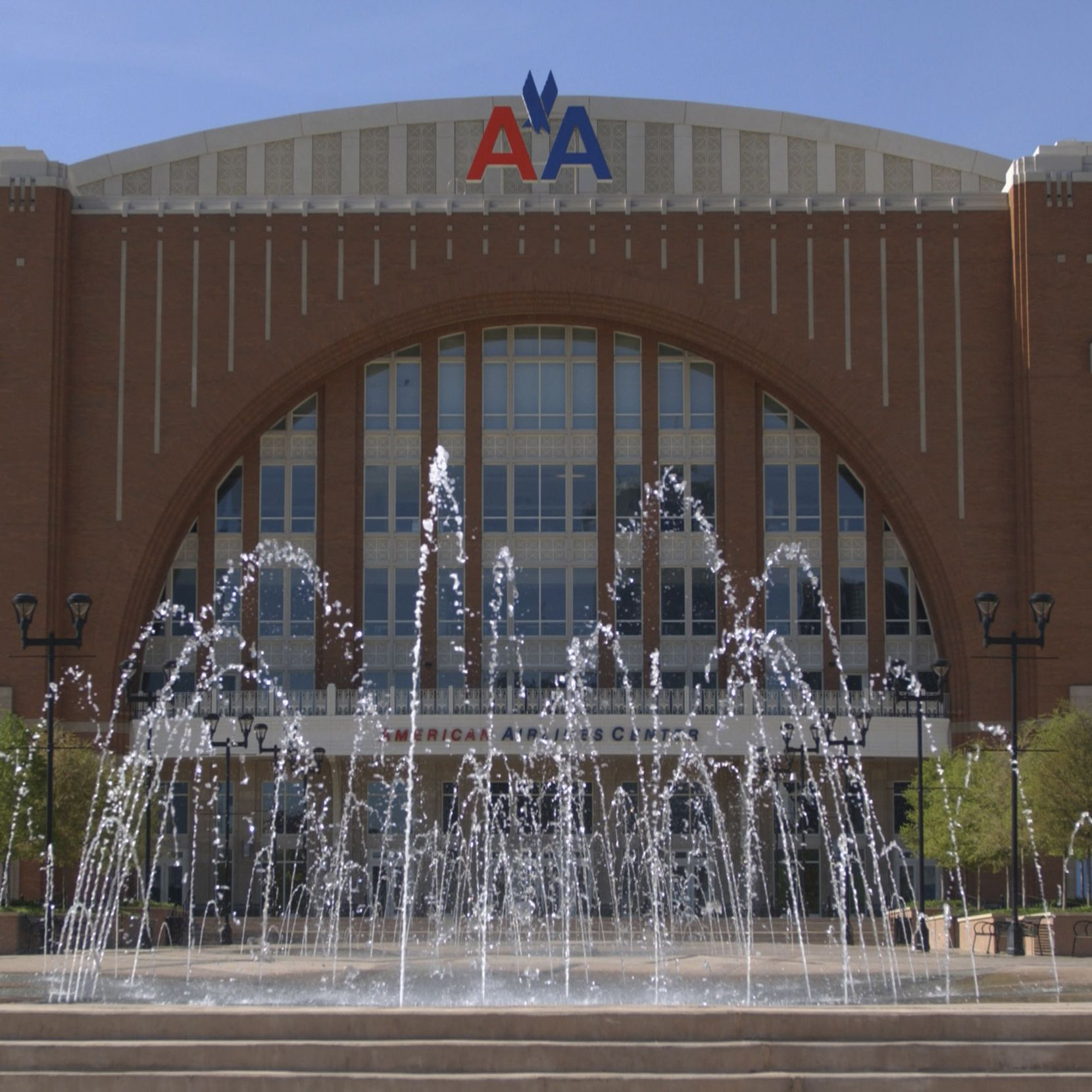 Why does American Airlines Center look like an airplane hanger? At least the sight-lines are good.