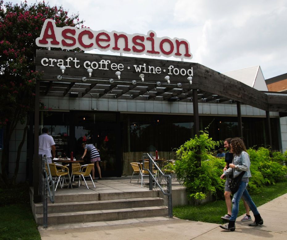 The first Ascension coffee shop opened in the Dallas Design District in 2012.
