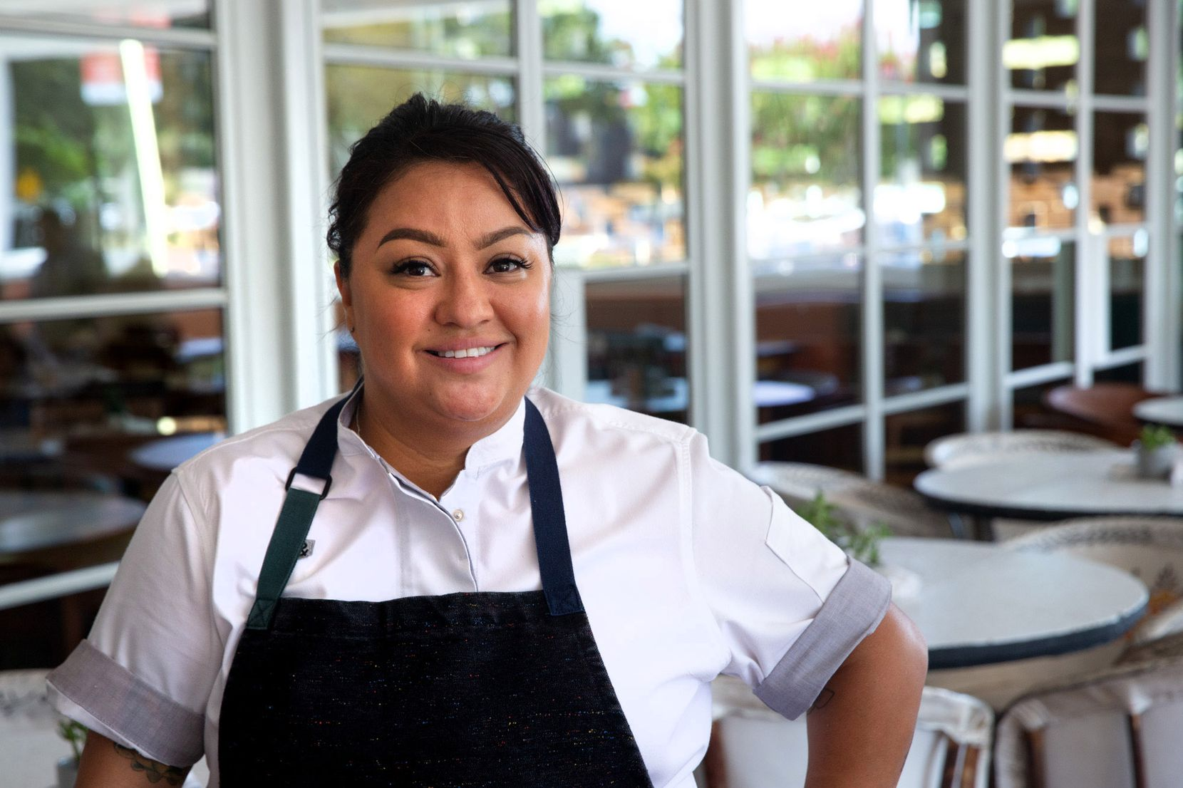 Anastacia Quiñones-Pittman is the executive chef at José restaurant in Dallas.