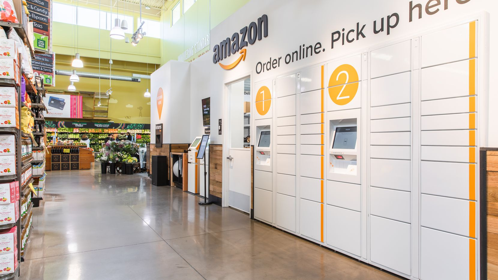 Got An Amazon Package A Local Whole Foods Has New Way For Pickups