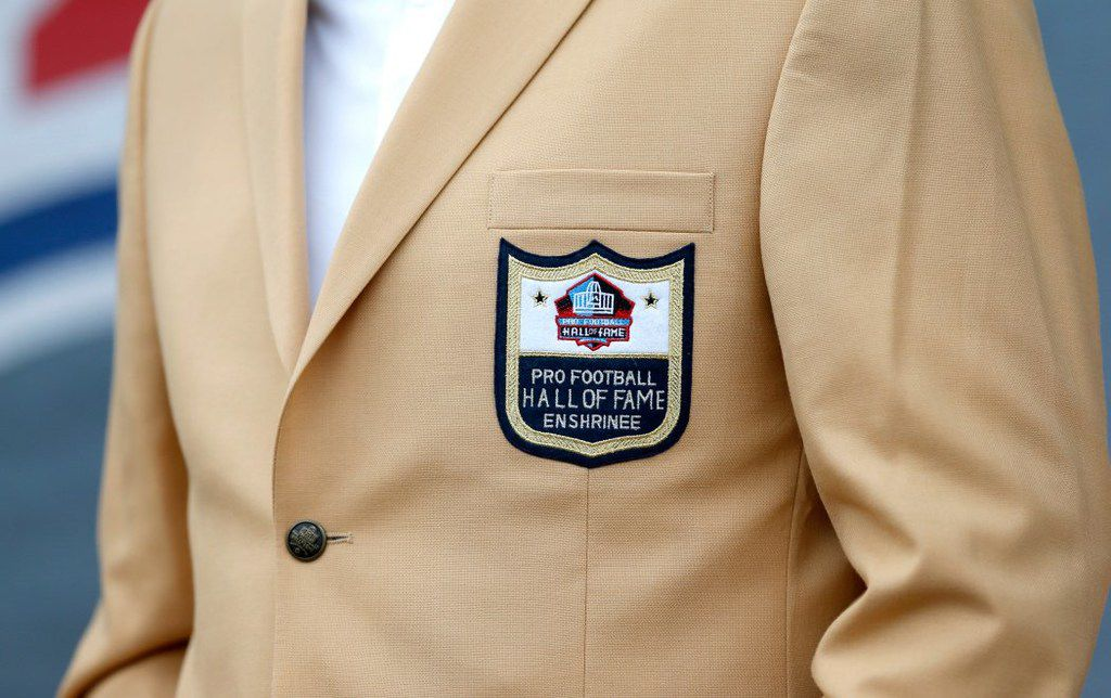 Dallas-based Haggar has been making official professional sports jackets for years.