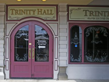About 12 weeks after Dallas' Trinity Hall reopened amid the coronavirus pandemic in 2021, it closed permanently.  Here is the story of its beginning, its end and the pints shared between the two.