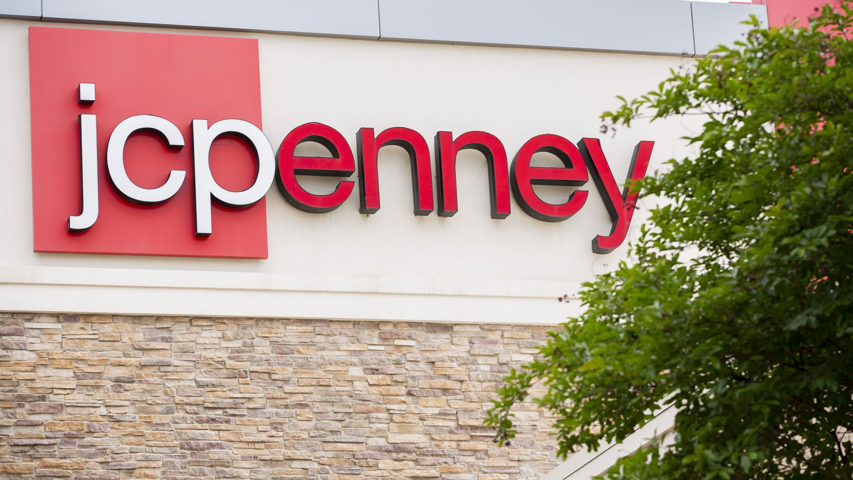 The exterior of the J.C. Penney that closed last year in the Timber Creek Crossing shopping center in Dallas.