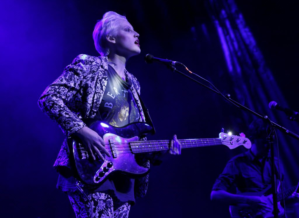 Sarah Jaffe christened The Bomb Factory with an electrifying set. (Rose Baca/Staff photographer)