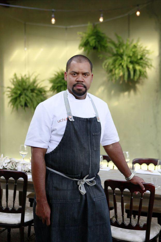 Uchi chef de cuisine Nilton Borges Jr.