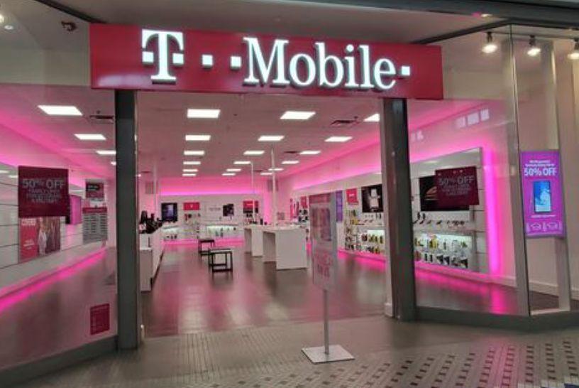 Una tienda de T-Mobile.