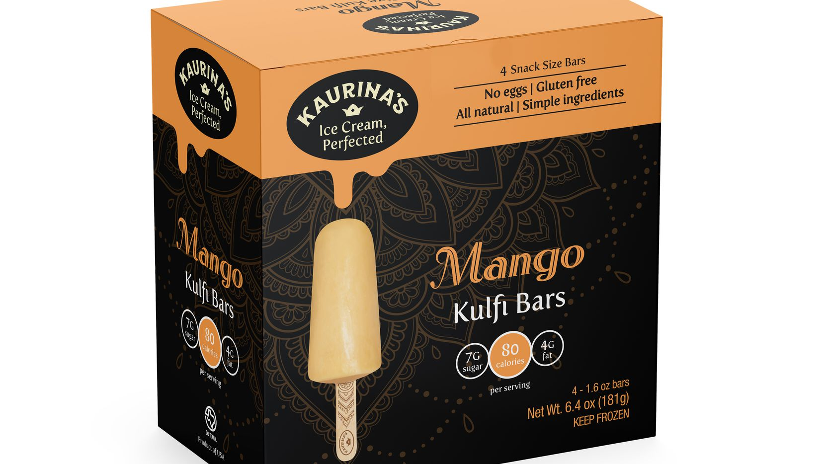 Kaurina's Kulfi is a Dallas-based ice cream company that just launched in Whole Foods.