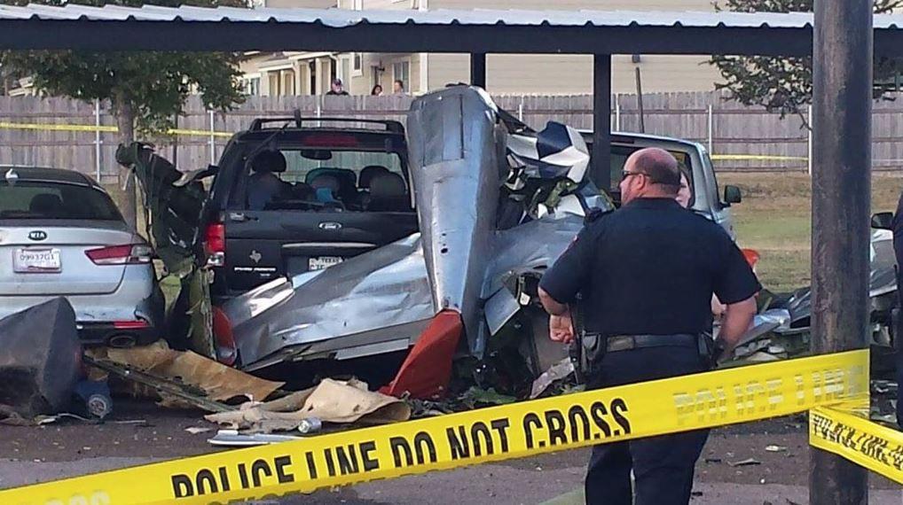 The crash killed two veterans.