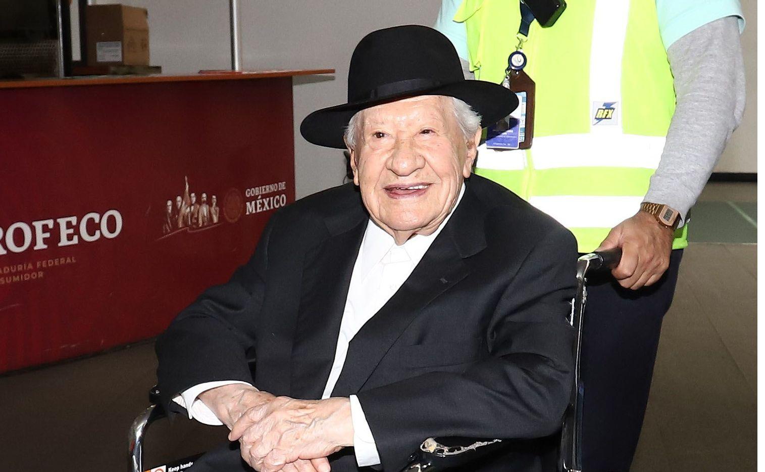Ignacio López Tarso, de 97 años, es una leyenda del cine mexicano.