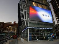WFAA's studio in the newly renamed PNC Plaza in Dallas.