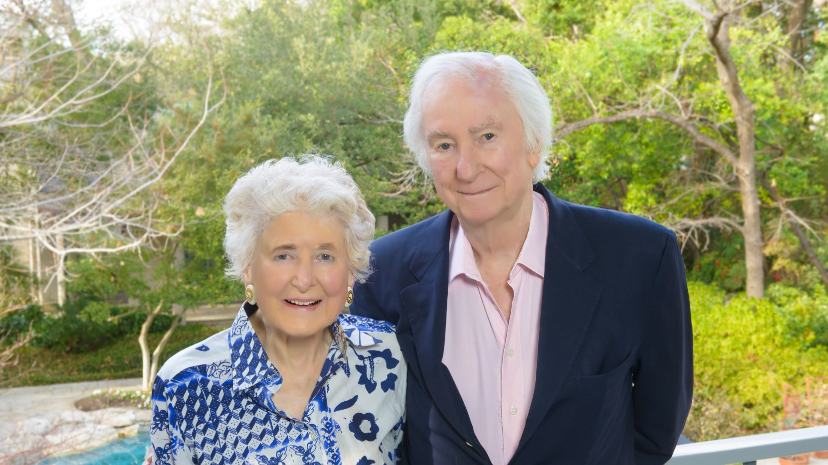 Photo of Edith and Peter O'Donnell Jr. The O'Donnell Foundation gave $36 million to University of Texas Southwestern Medical Center for its new brain institute.