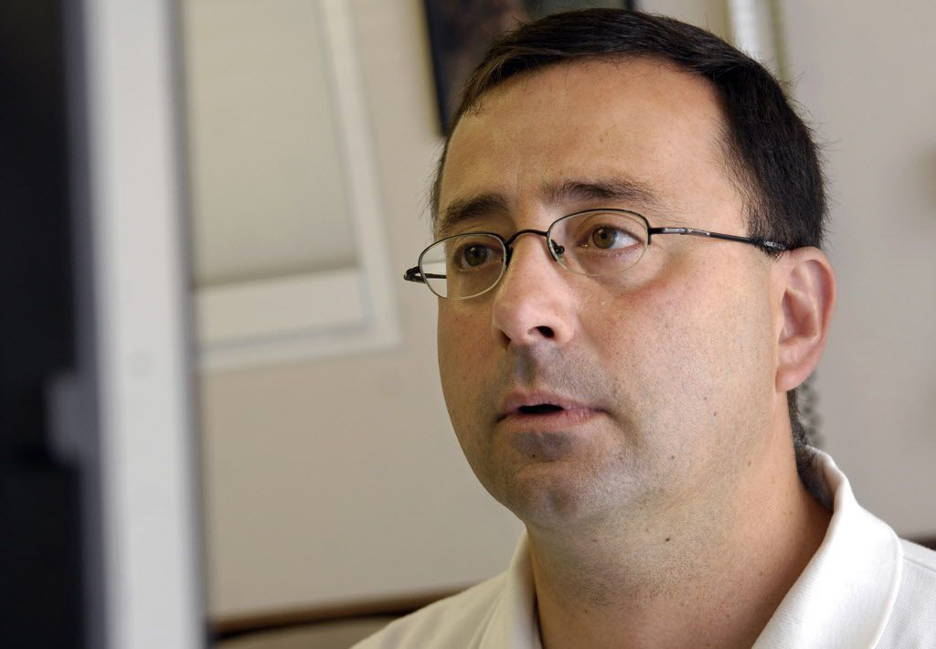 Dr. Larry Nassar, who was fired by Michigan State University in September, has been accused of sexual abuse by gymnasts.