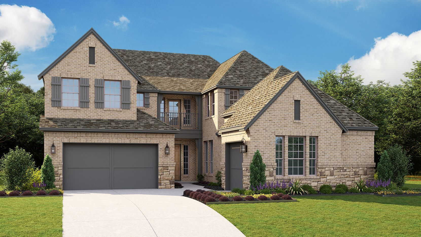 The home at 3905 Campania Court in the gated community of Creekside at Colleyville offers 3,854 square feet of interior space, four bedrooms, 4½ bathrooms and a three-car garage.