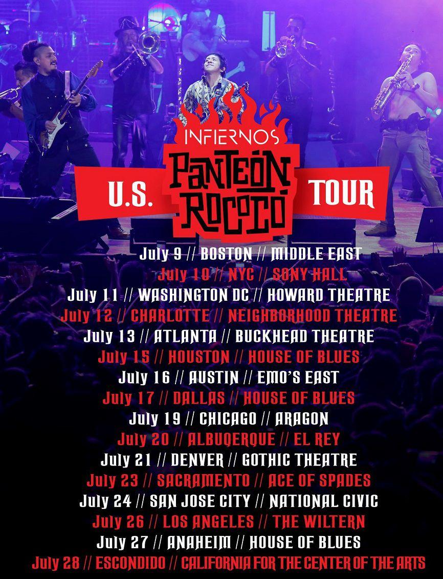 Panteón Rococó US Tour 2019