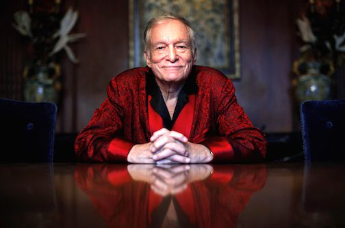 Hugh Hefner, fundador de Playboy. AP