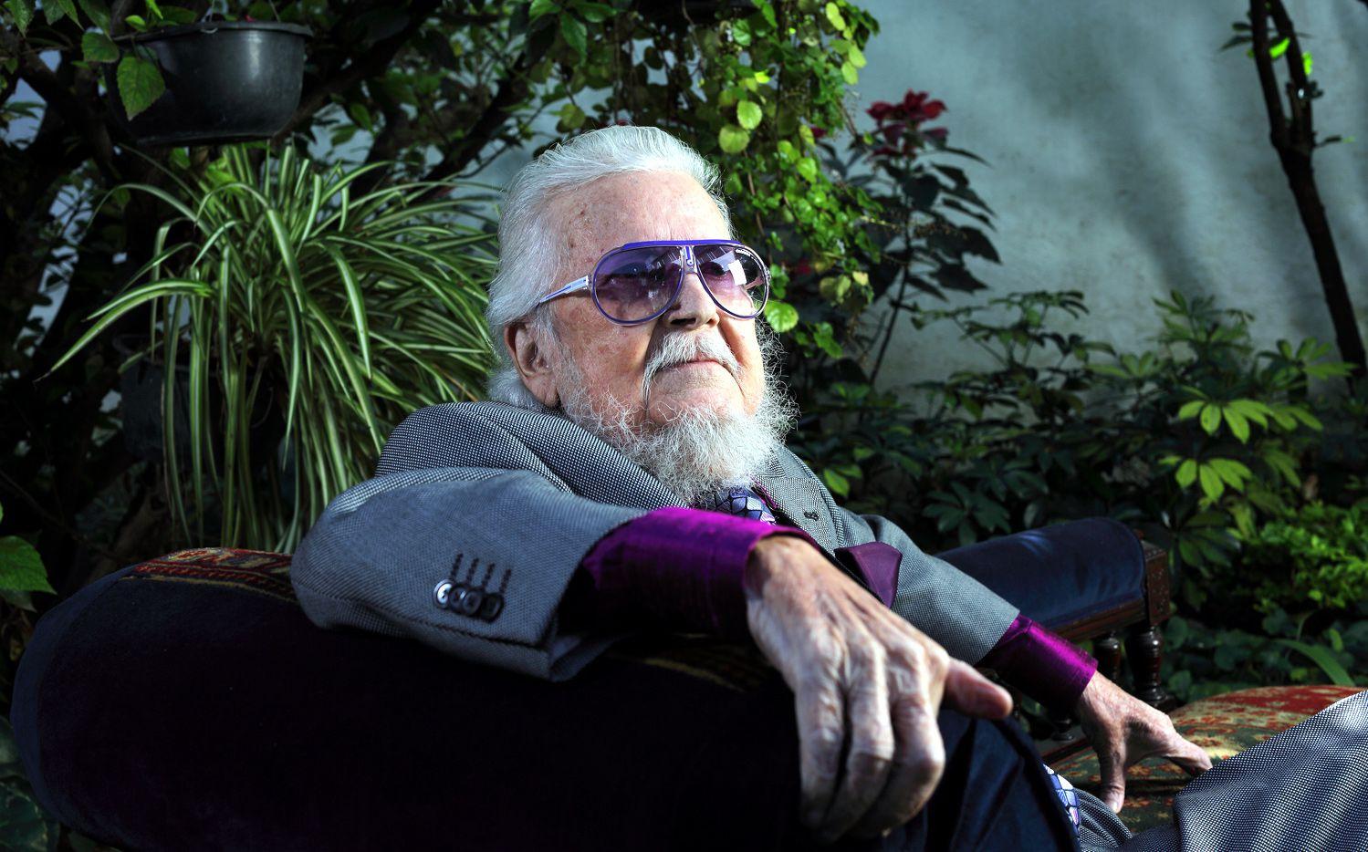 El escritor Fernando del Paso. AGENCIA REFORMA