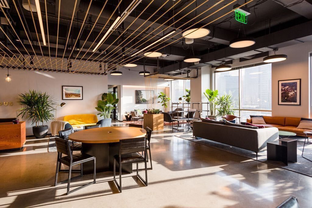 Industrious has a location in the One Arts Plaza building in downtown Dallas' Arts District.