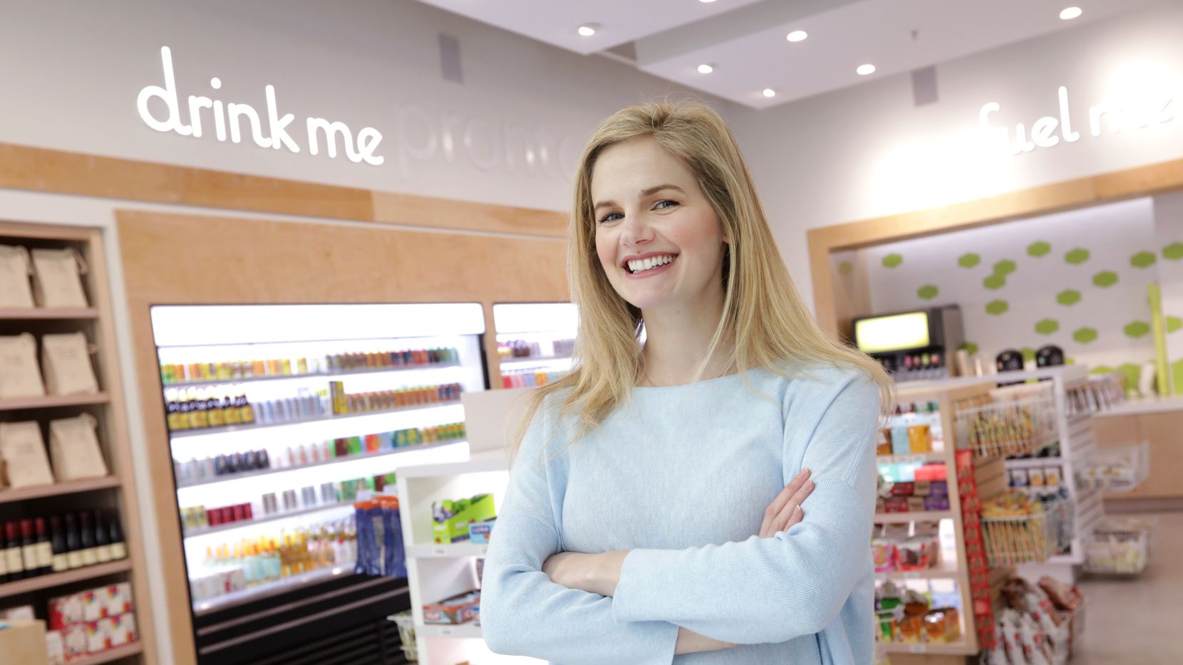 Morgan Pieper is the CEO of Feed Me Pronto, a convenience store with an emphasis on healthful, non-GMO and organic ingredients.