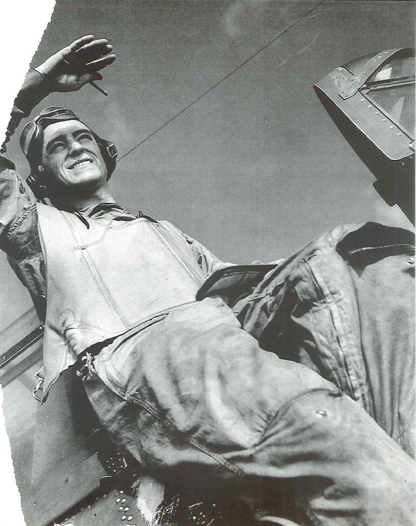 """N. Jack """"Dusty""""  Kleiss during training at Cecil Field, Fla. From Never Call Me a Hero: A Legendary American Dive-Bomber Pilot Remembers the Battle of Midway"""