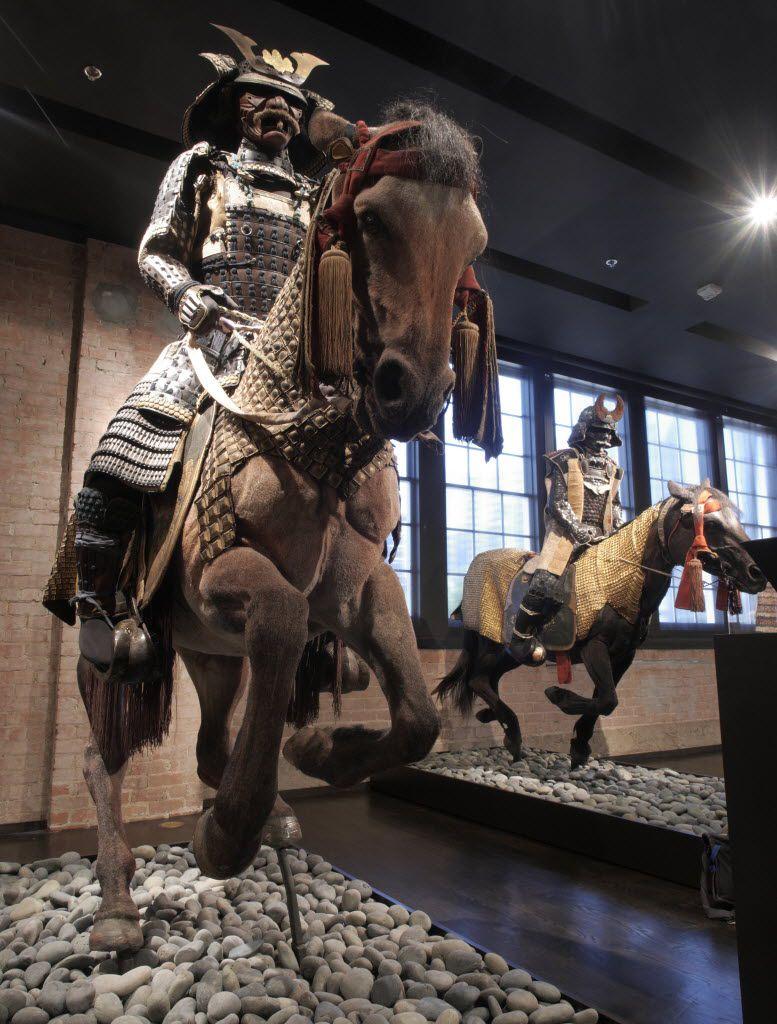 The Samurai Collection features samurai armor on (fake) horses.