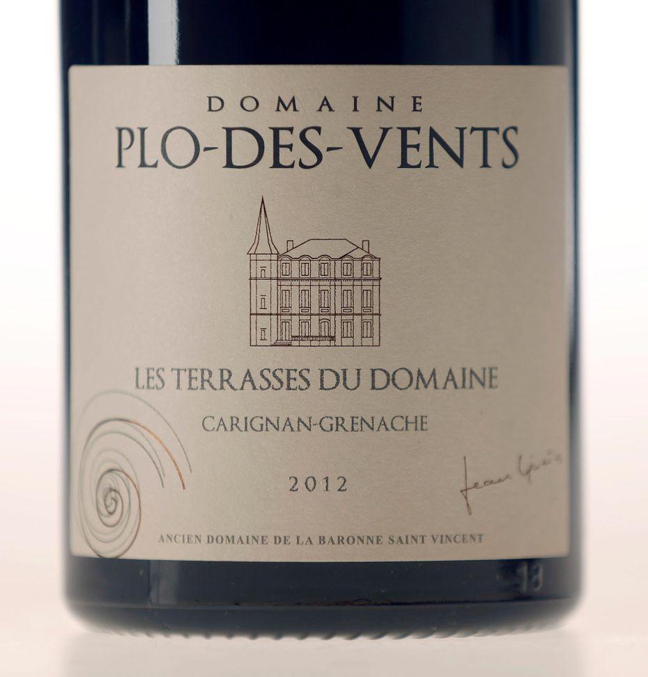 Domaine Plo-des-Vents, Corbière AOP, Les Terrasses du Domaine, Carignan-Grenache 2012