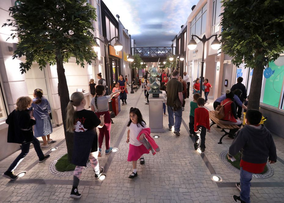 KidZania opened at Stonebriar Centre in Frisco in November 2019. The kid-run city is built in an 85,000-square-foot indoor space and aims to show children how the world works.