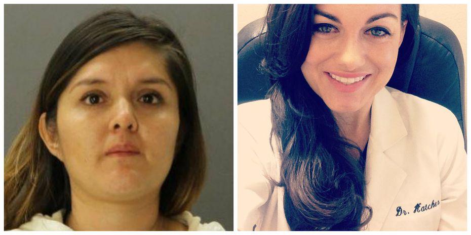 Brenda Delgado (left) was sentenced to life in prison in June for organizing the murder-for-hire plot against Kendra Hatcher.