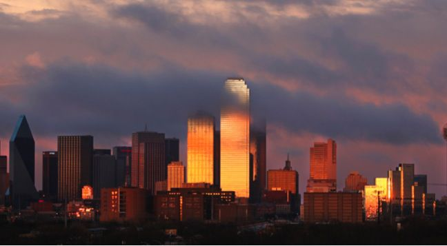 Dallas-area office rents have risen more than 25 percent in the last five years.
