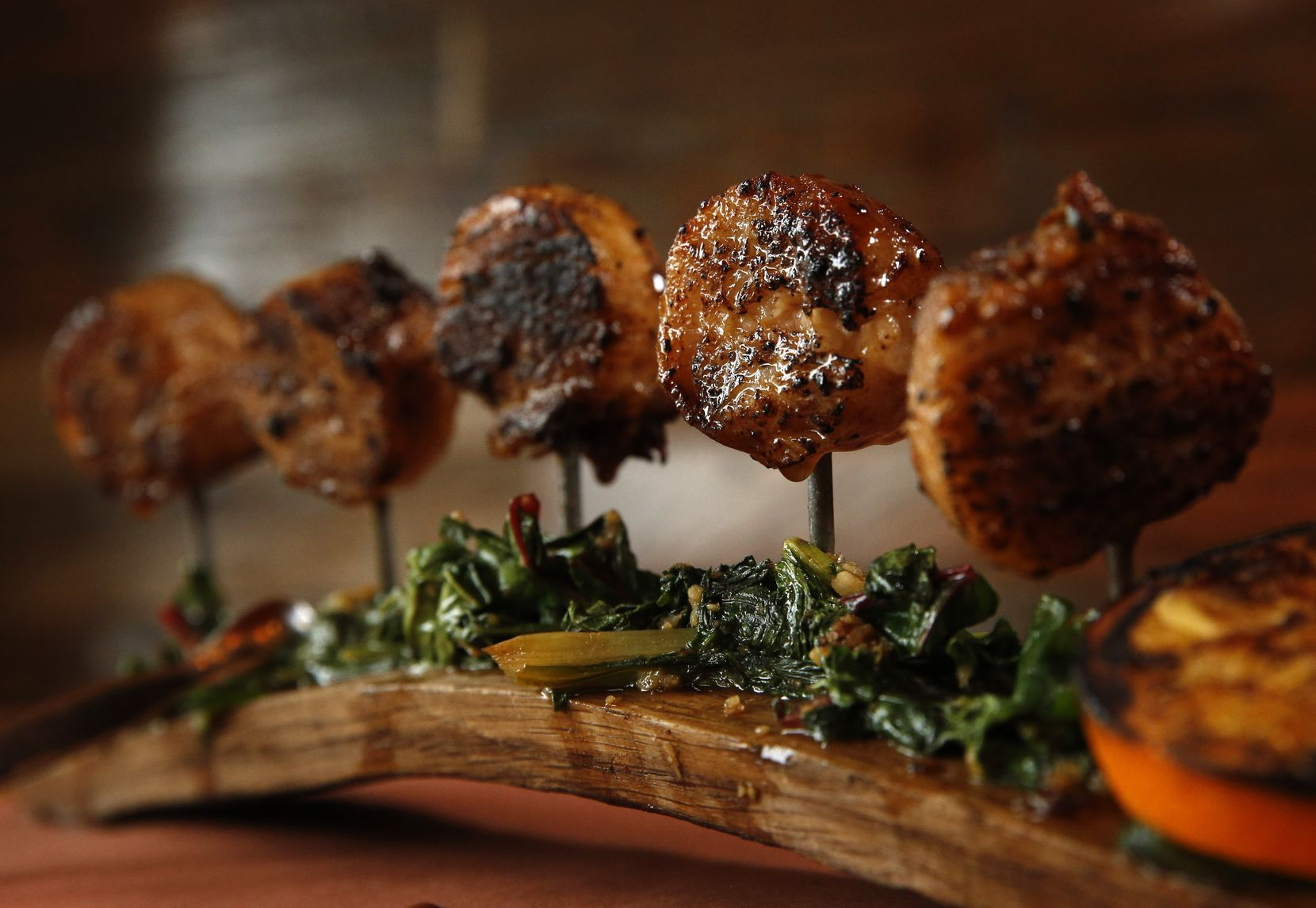 Dallas customers to the coming-soon Rye can expect to find pork belly lollipops on the menu.