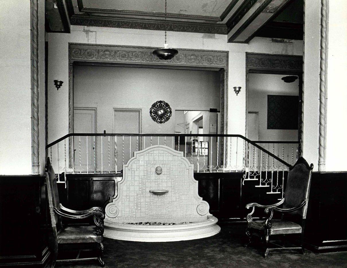 Sept. 11, 1979: The lobby of the Ambassador Hotel