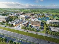 The North Fields office, retail and residential campus will stretch along the south side of U.S. 380 in Frisco.