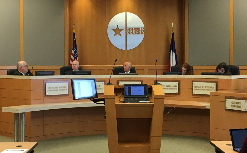 Collin County commissioners passed a unanimous resolution backing the House and Senate bills that are intended to give property owners tax relief.