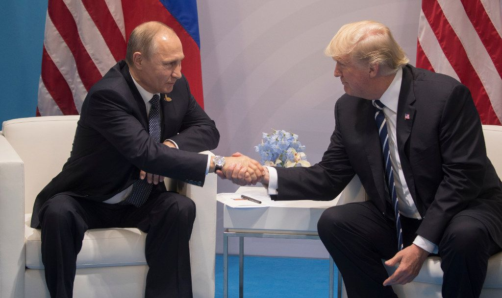 President Donald Trump's ties to Russia have loomed over Congress' efforts to impose tougher sanctions on the country. (Stephen Crowley/The New York Times)