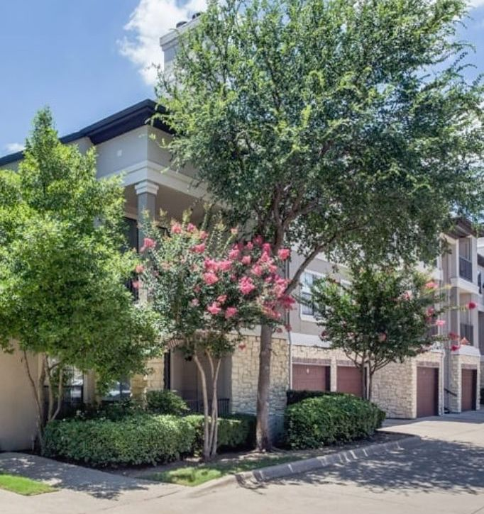 The Verandas at Timberglen apartments are in Far North Dallas.
