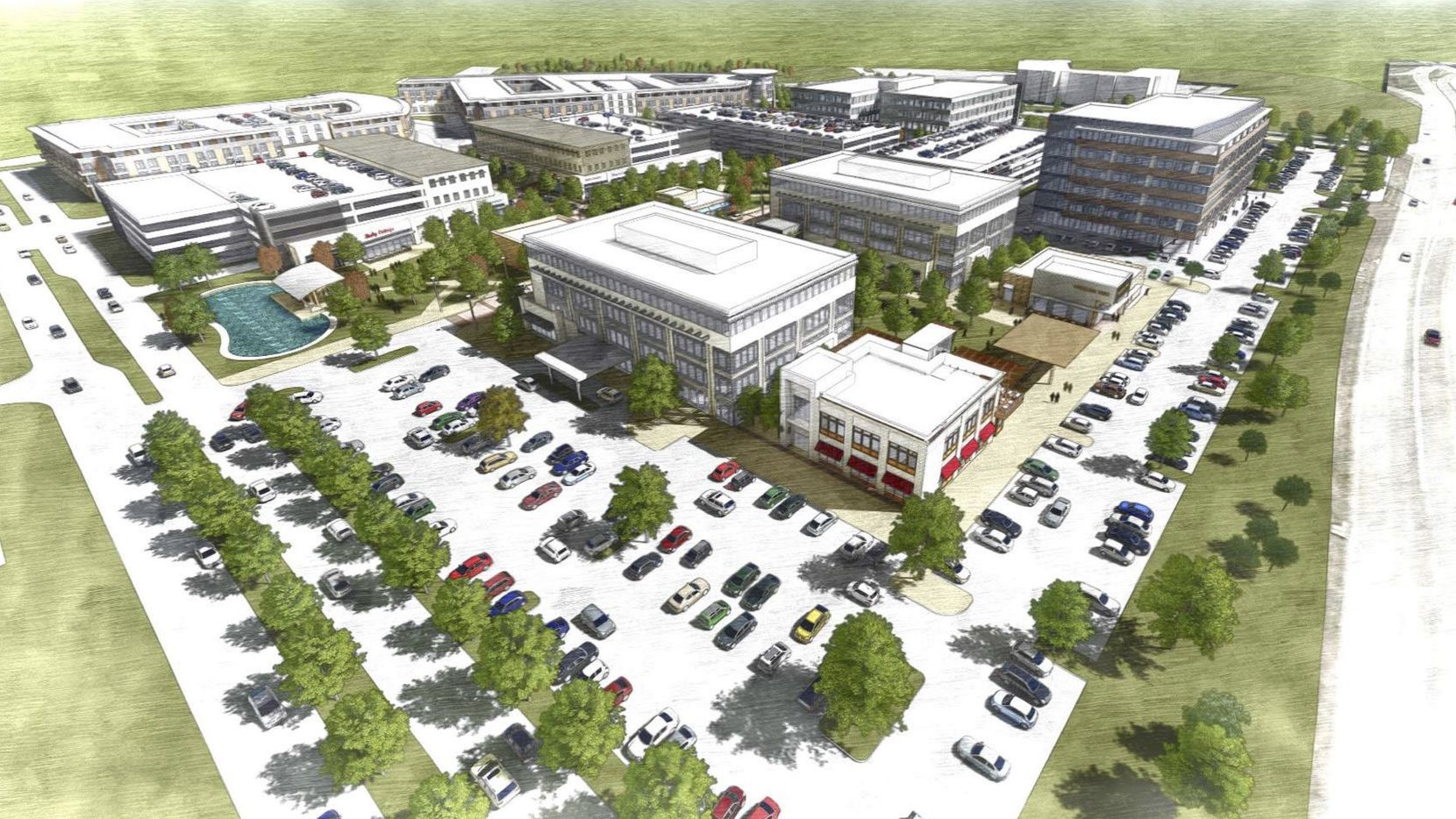 The 60-acre Southgate development in McKinney.