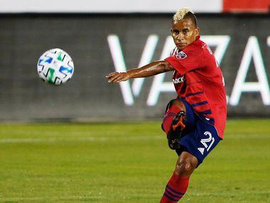 Michael Barrios jugó 188 partidos para el FC Dallas en los que marcó 31 goles y sumó 46 asistencias.