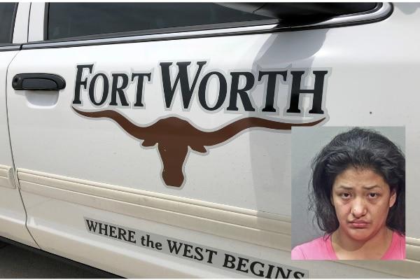 Laura Rosas fue arrestada por la policía de Fort Worth. DMN