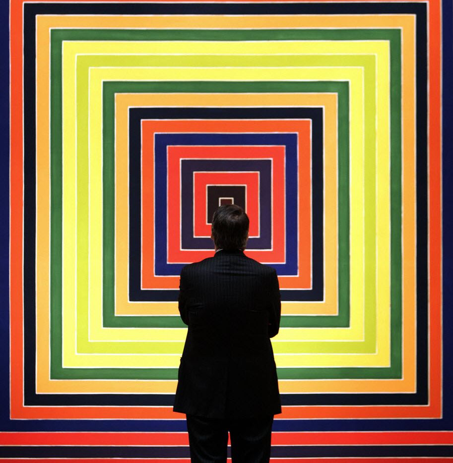 The Modern Art Museum of Fort Worth's Frank Stella exhibit was a big hit in 2016. (2007 File Photo/Agence France-Presse)