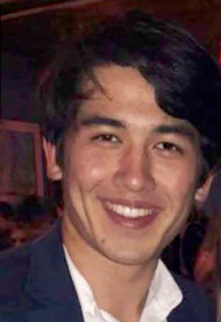 "A photo of Nicholas ""Nicky"" Cumberland, a 20-year-old UT student from Houston, which was included in an investigative report by the University of Texas. Cumberland, a member of the elite Texas Cowboys fraternity, died Oct. 30, 2018, from injuries sustained a month earlier on his way home from the Texas Cowboys' annual retreat."